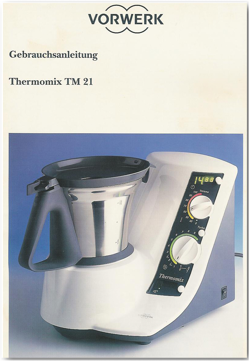 vorwerk thermomix tm21. Black Bedroom Furniture Sets. Home Design Ideas